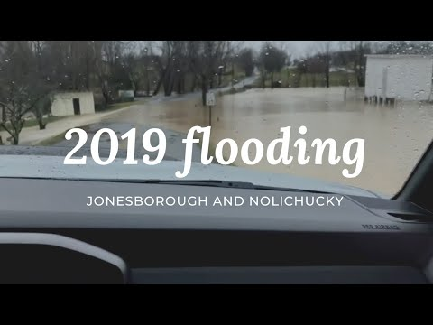 2019 flooding East Tennessee jonesborough