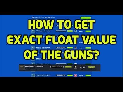 Cs go skin float value checker