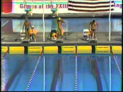 1984 Olympic Games - Men's 100 Meter Freestyle
