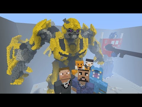 Minecraft XBOX - Hide and Seek - Transformers 5: The Last Knight