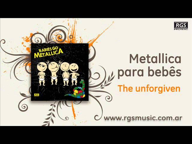 Metallica para Bebês - The unforgiven