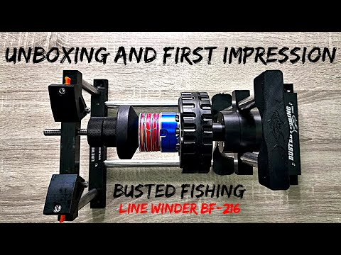 Busted Fishing Line Winder BF -216 Unboxing And First Impression