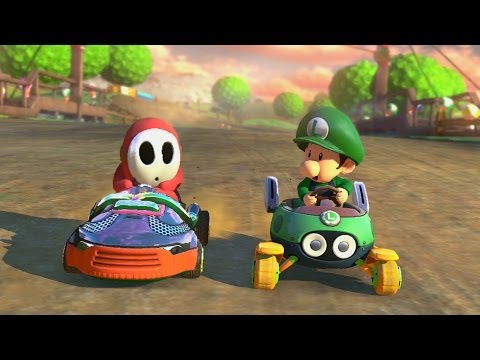 Mario Kart 8 - 1v1 Race w/ The Diamond Minecart
