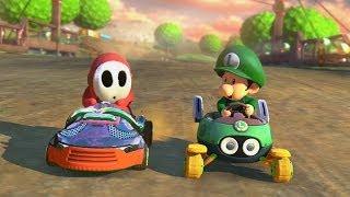 Mario Kart 8 - 1v1 Race w/ The Diamond Minecart thumbnail