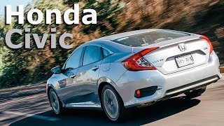 Honda Civic Turbo - muy diferente con motor turbo | Autocosmos Video