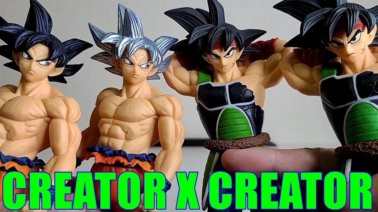 Son Goku Bardock Figure Creator x Creator BANDAI BANPRESTO Unboxing