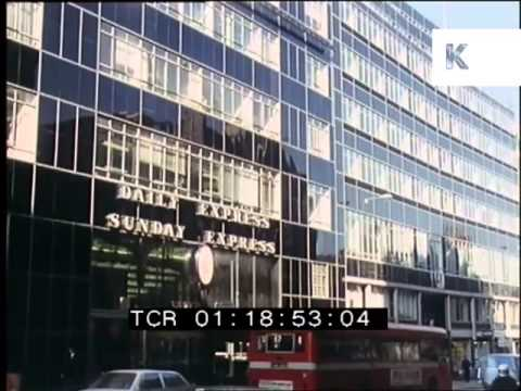 1970s Fleet Street London, Daily Express Building