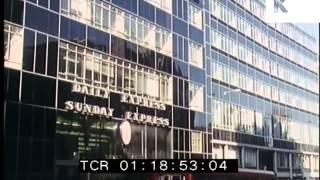 1970s Fleet Street London, Daily Express Building