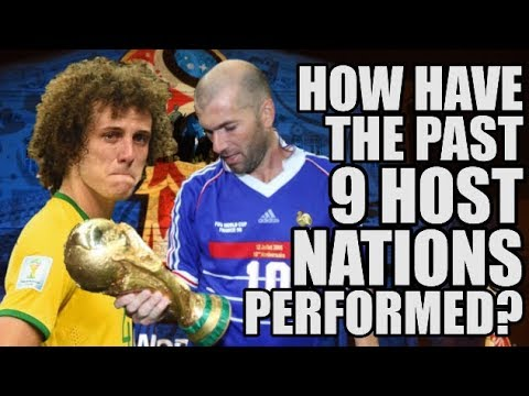 Past 9 World Cup Hosts: How Did They Perform?