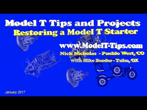 Electrical 02 Restoration of the Model T Starter