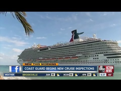 Coast Guard begins unannounced cruise ship inspections