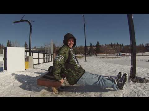 Tool Show! - Calgary Flames Ice / Equiptment Audition Tape!