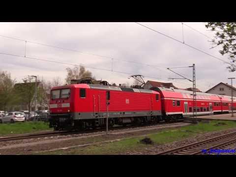 """Frühling mit DB Regio im Neckartal mit """"Ladys"""", ex. DR Dostos und mehr"""