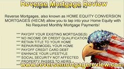 Reverse Mortgage Review, Local reverse Mortgage