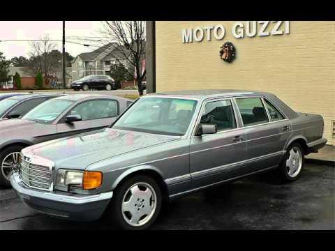 1990 mercedes benz 560sel for sale in marietta ga youtube for Mercedes benz watch for sale