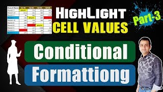 Using Excel Conditional Formatting Bangla : Create Your Own Rules to Highlight Cells