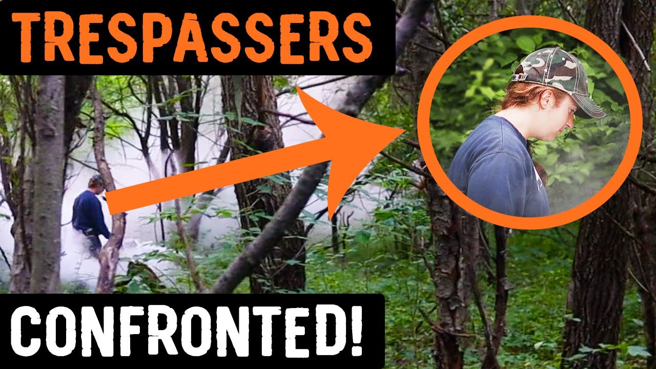 Download Trespassers Confronted - This is UNBELIEVABLE..