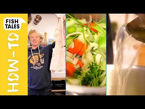 How to make FISH STOCK | Bart van Olphen