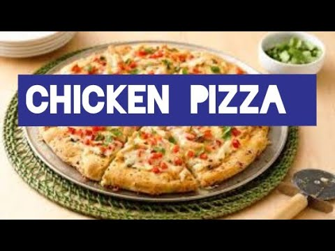 Best homemade Chicken pizza without oven | Domino's pizza recipe | NO Oven pizza | super tasty pizza