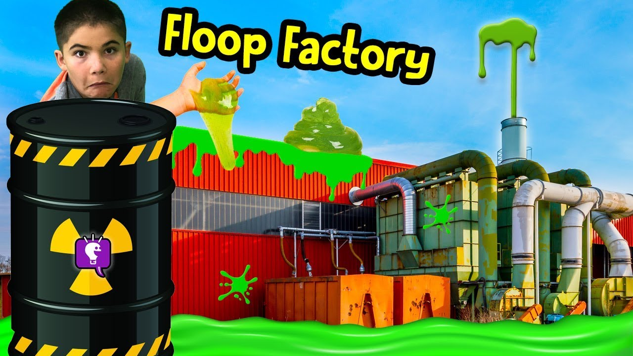 FLOOP FACTORY Adventure! Slime Mystery Laboratory with HobbyKidsTV