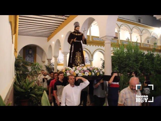 VÍDEO: Breve fragmento de la procesión de San Francisco por el claustro del Convento de la Madre de Dios de RR. PP. Franciscanos
