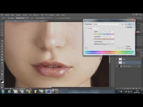 Tutorial Mudar A Cor Dos Olhos E Da Boca Adobe Photoshop Cs6