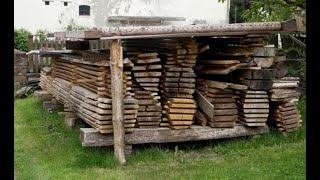 #223 Jak powinno byc suche  drewno na meble ?