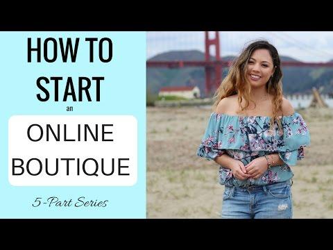 How to Start an Online Boutique   Free 5-Part Mini-Series   Monika Rose