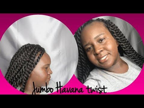 Repeat Individual Crochet Braids Jumbo Havana Twist No Cornrows