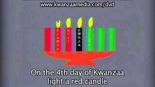 Kwanzaa Seven Candles Mishumaa Saba