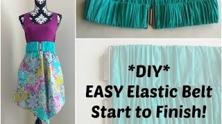 Download Video DIY: How to Make An Elastic Belt MP3 3GP MP4