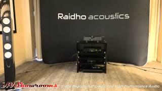 Raidho X3 with AAvik Acoustics electronics, Ansuz Acoustics cables, short session