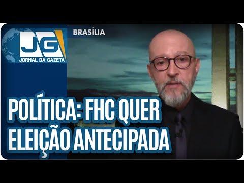 Josias de Souza/Agora, FHC quer eleição antecipada