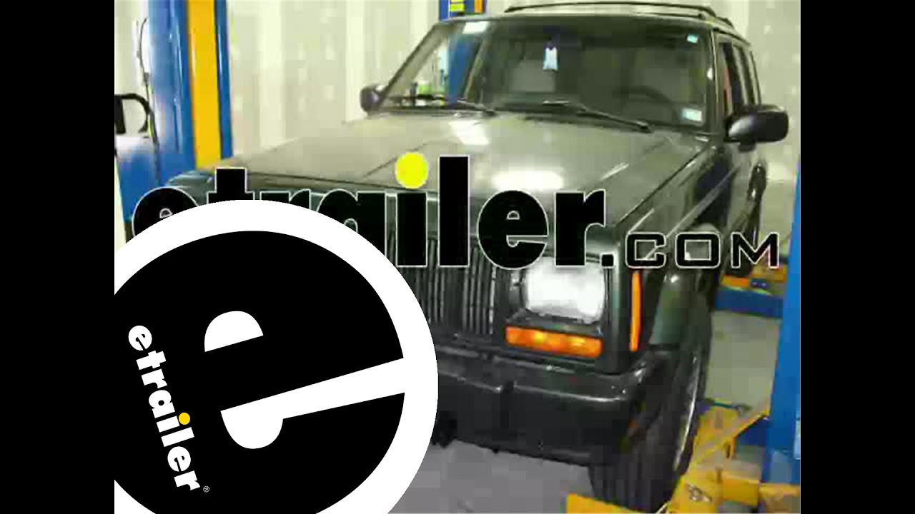Roadmaster Tow Bar Wiring Kit Installation 1997 Jeep Cherokee