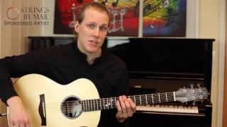 Open String Scales Lick | Strings By Mail Acoustic Lessons with Cim Frode