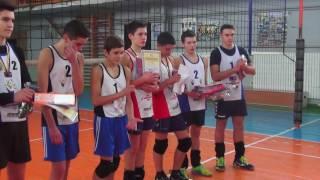 Награждение. I тур (U -17) чемпионата Украины по пляжному волейболу среди юношей 21.01.2017.