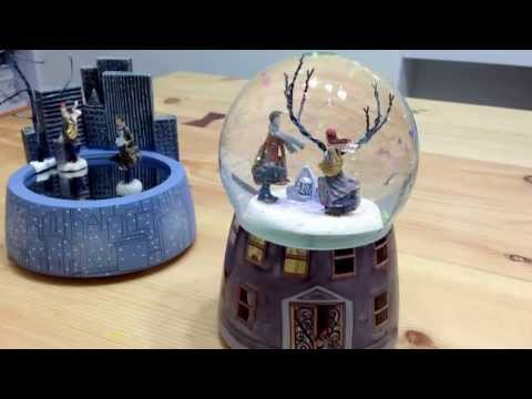 Snow ball music box : A Chance of Sunshine (song-castle in the sky)