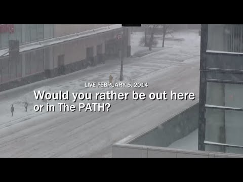 Downtown Toronto Shopping: Would you rather be outside, or in the PATH?