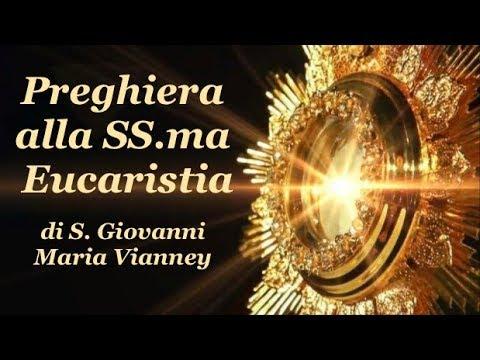Preghiera Alla SS.ma Eucaristia Di S. Giovanni Maria Vianney