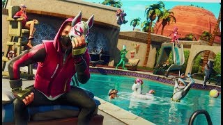 STAR SECRET WEEK 4-SEASON 5-PARADISE IN THE POOL-FORTNITE
