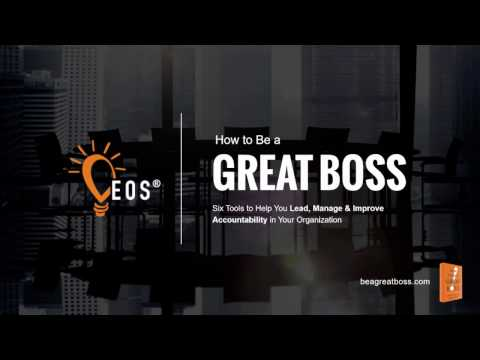 How to Be a Great Boss - Webinar Recording - Oct. 17, 2016