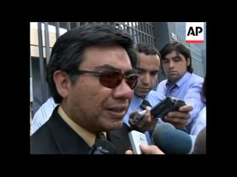 Son and lawyer visits former Peruvian President in prison