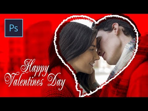 Valentines Day Card | Photoshop Tutorial