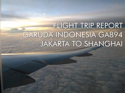 Flight Report | Garuda Indonesia Boeing 777-300ER | GA894 Jakarta to Shanghai Pudong