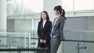 佐々木希(ささきのぞみ), chay(ちゃい)出演CM n♥line フレッシャー...