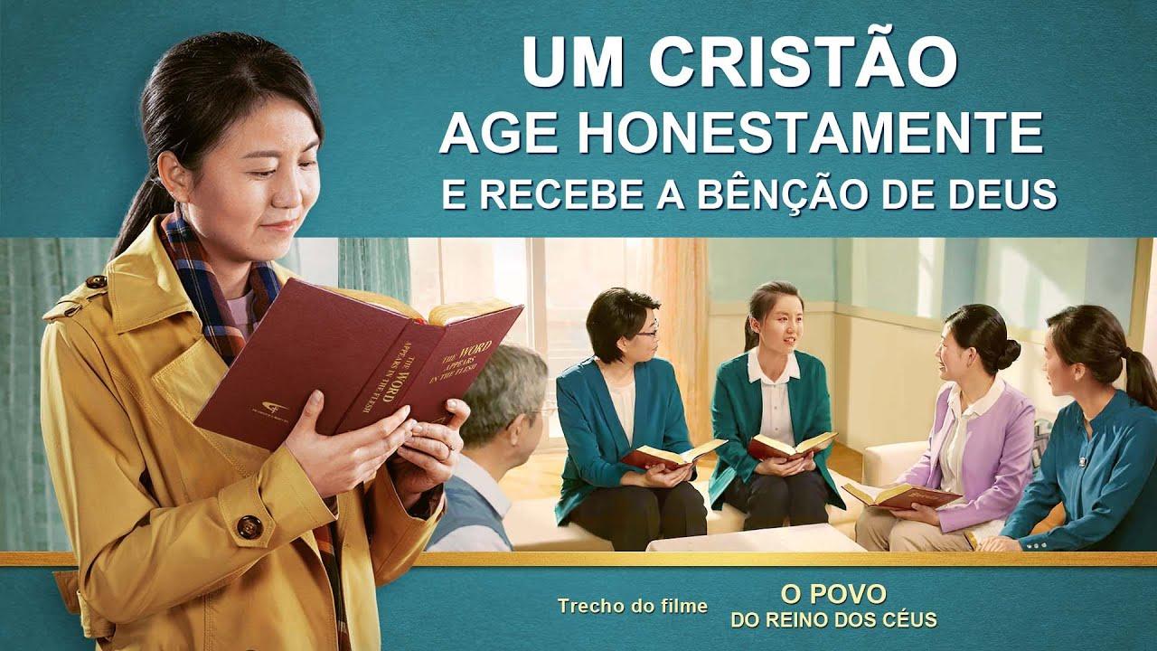 """Filme evangélico """"O povo do reino dos céus"""" Trecho 1 – Um cristão age honestamente e recebe a bênção de Deus"""