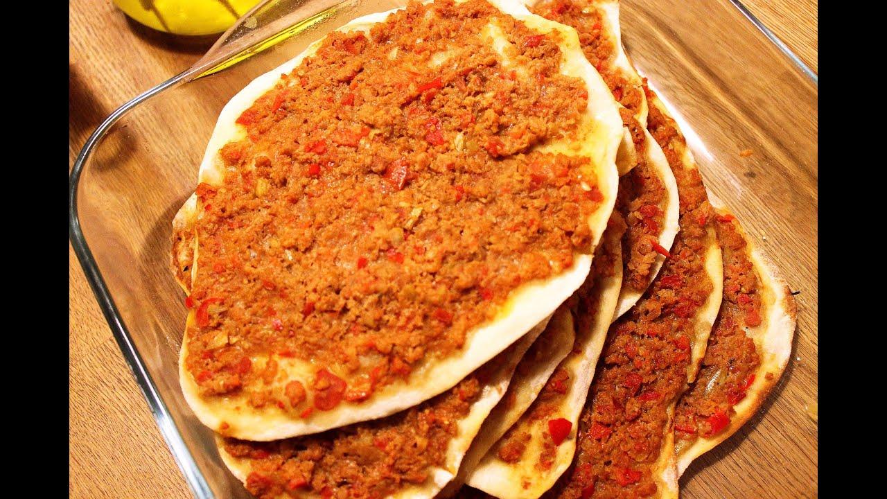 LAHMACUN - TÜRKISCHE PIZZA einfach lecker, beliebtes Rezept ...
