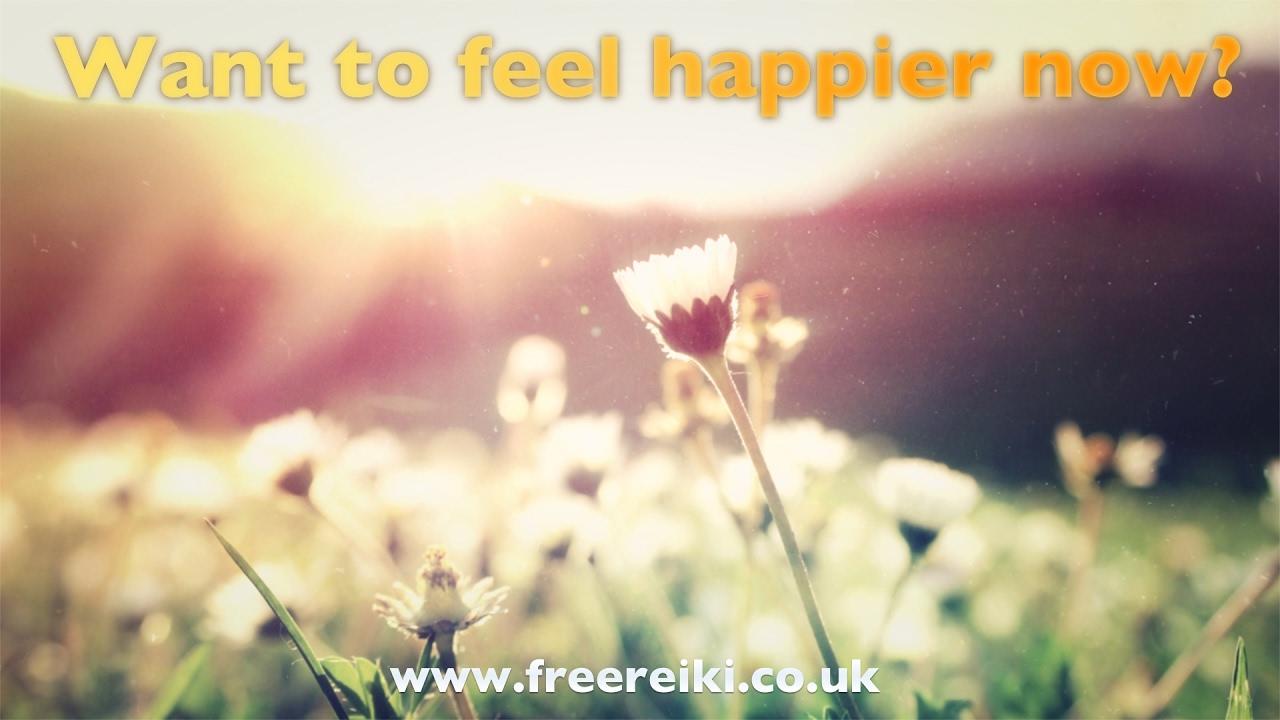 want to feel happy now free reiki healing meditation to help walk