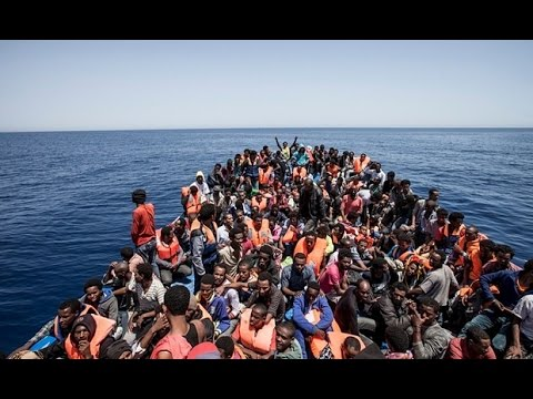 muslim illegal migrants threw twelve Christians overboard 2015-04