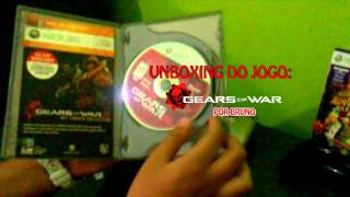 Unboxing Gears Of War Triple Pack Xbox (PT-BR)